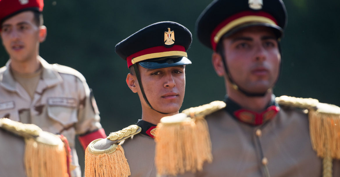 Egypt army soldiers