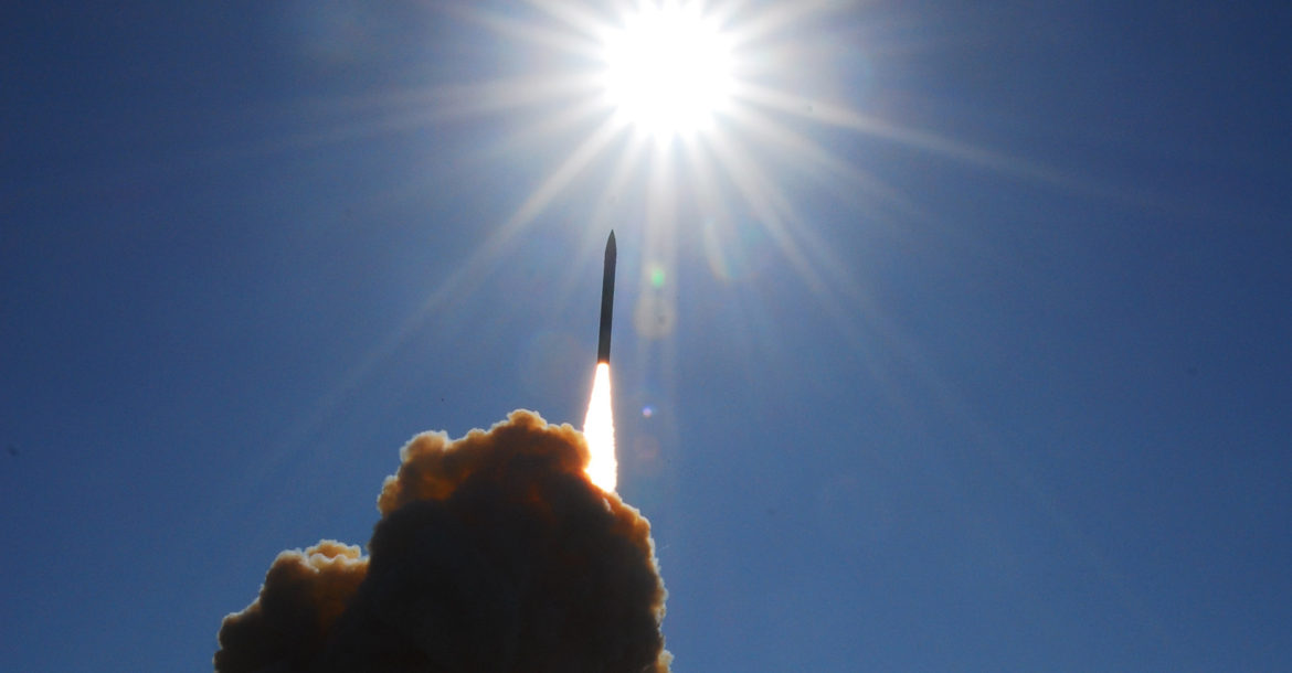 GMD missile test