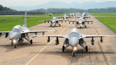 Korea Aerospace Industries TA-50 fighters