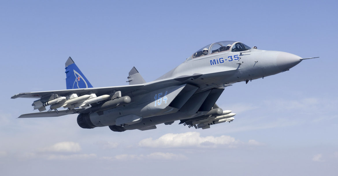 Russia's Mikoyan says MiG-35 multi-role fighter jet completes ...
