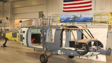 Sikorsky Combat Rescue Helicopter Final Assembly