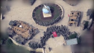 Turkish troops take control of Afrin