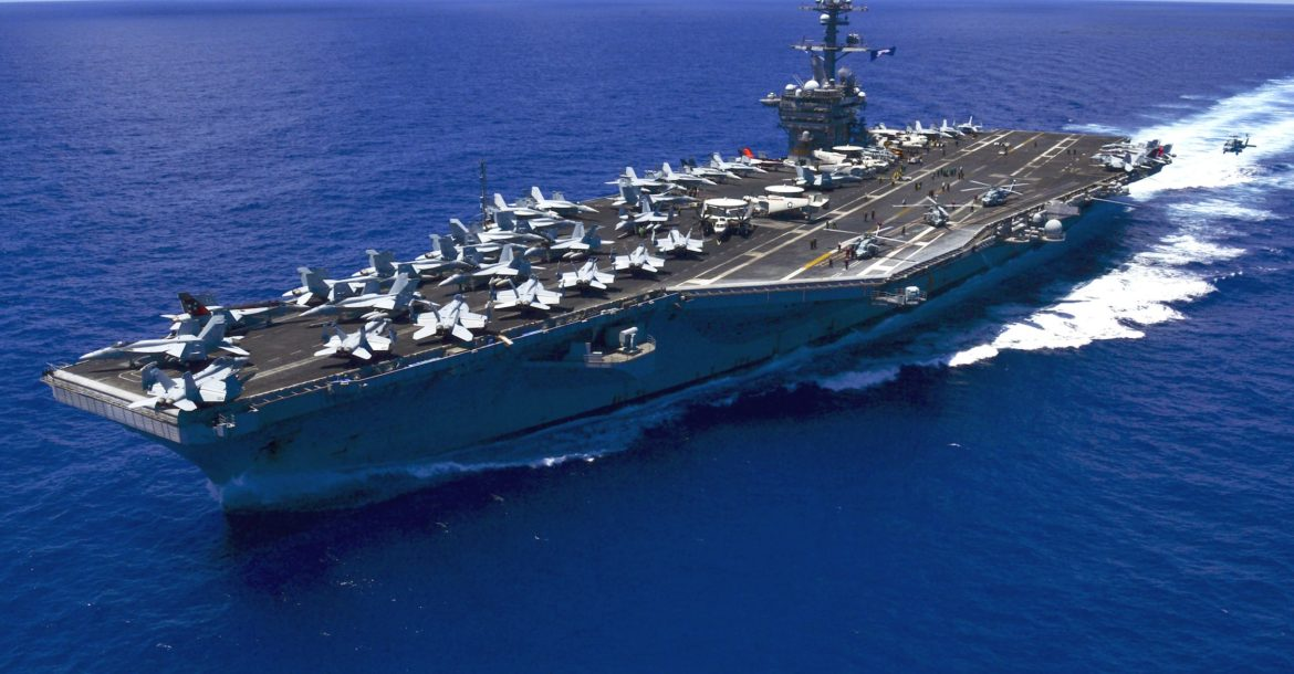 US aircraft carrier USS Carl Vinson