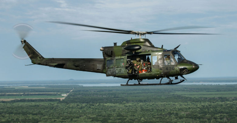 Canadian Air Force CH-146 Griffon helicopter