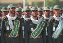 IRGC and Basij in Mashhad, Iran
