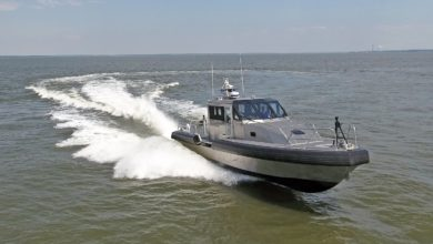 45-foot Metal Shark patrol boat