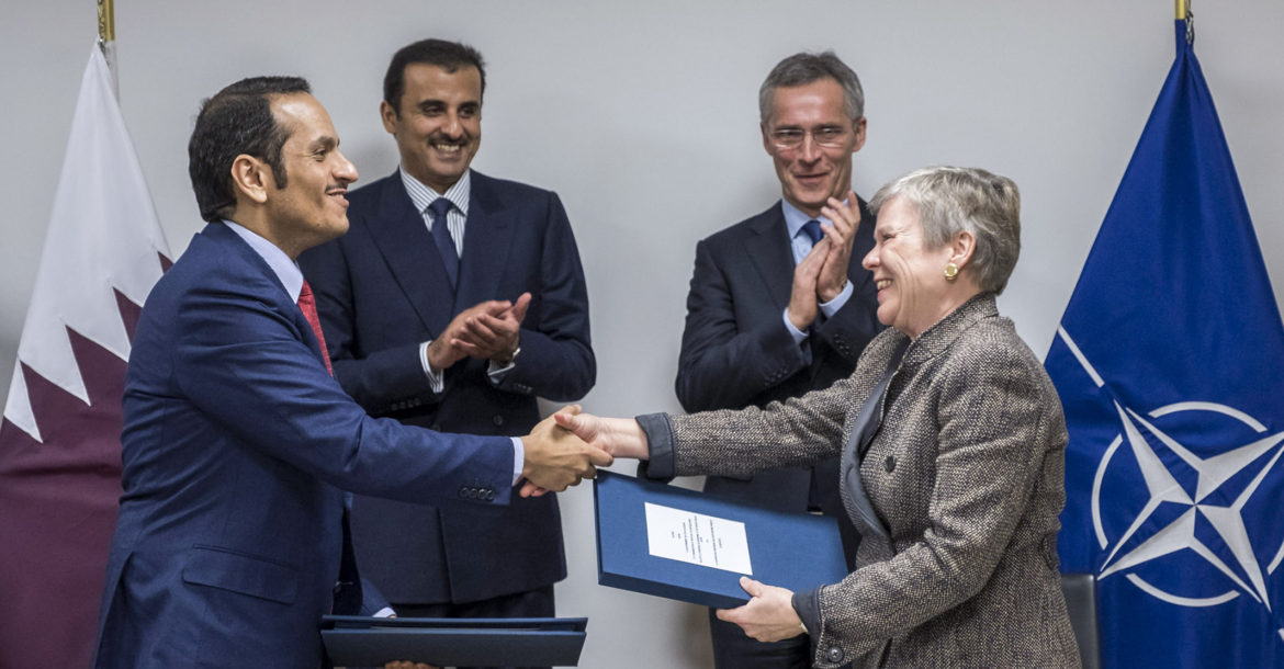 Qatar Signs Agreement Allowing Nato Use Of Al Udeid Air Base