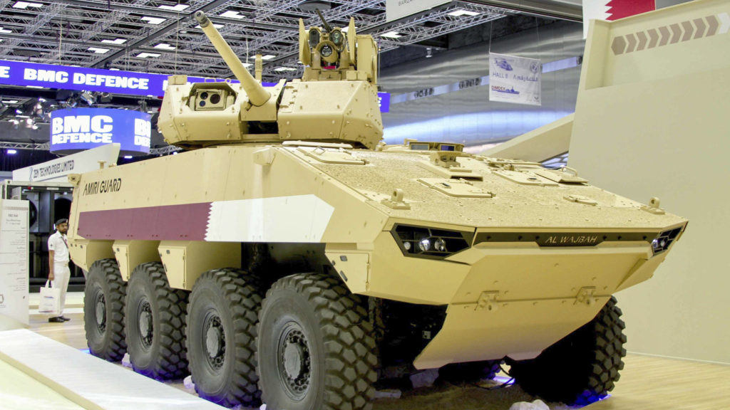 Nexter VCBO with Kongsberg weapon systems