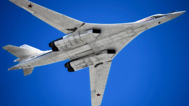 Tupolev Tu-160 strategic bomber