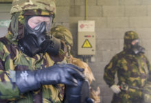 UK forces train on CBRN procedures