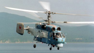 Russian Navy Ka-27 helicopter