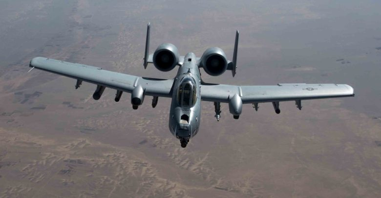 US Air Force A-10 over Afghanistan