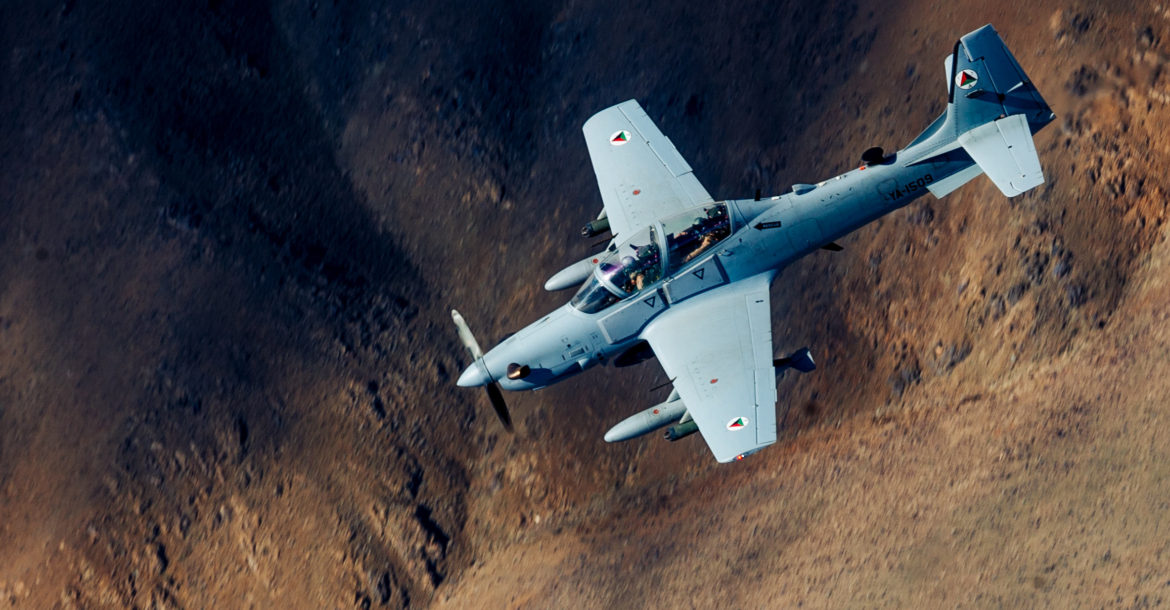 Sierra Nevada awarded $1 8 billion Afghanistan A-29 Super Tucano