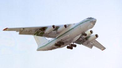 Algerian Air Force IL-76