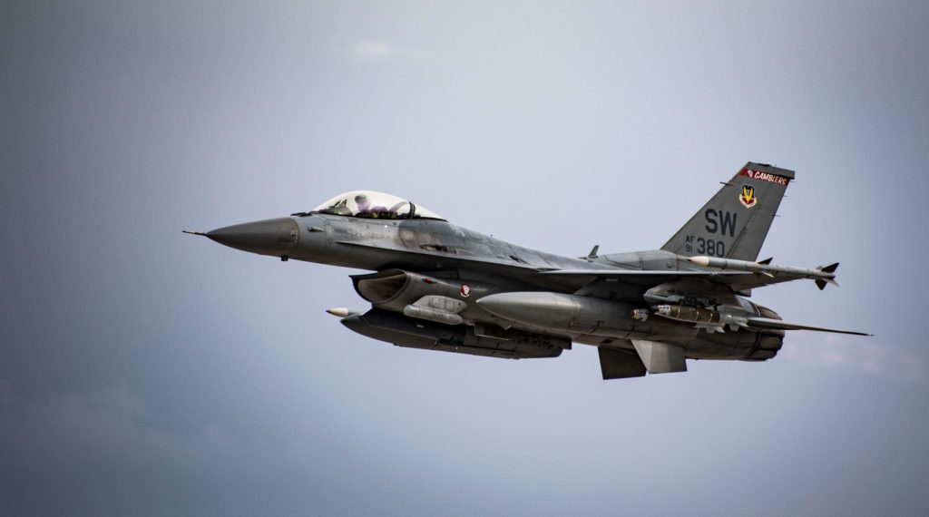 US Air Force F-16 in Afghanistan