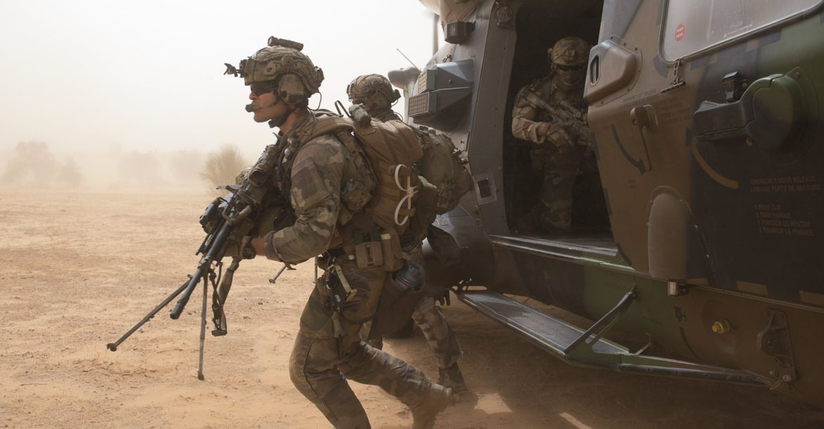French special forces in Mali
