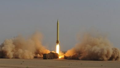 Iran tests a Shahab-3 medium-range ballistic missile
