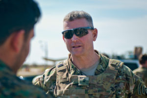 US Army Brigadier General Jonathan P. Braga, Coalition director of operations
