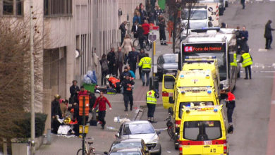 Maalbeek Metro station after the Brussels attacks