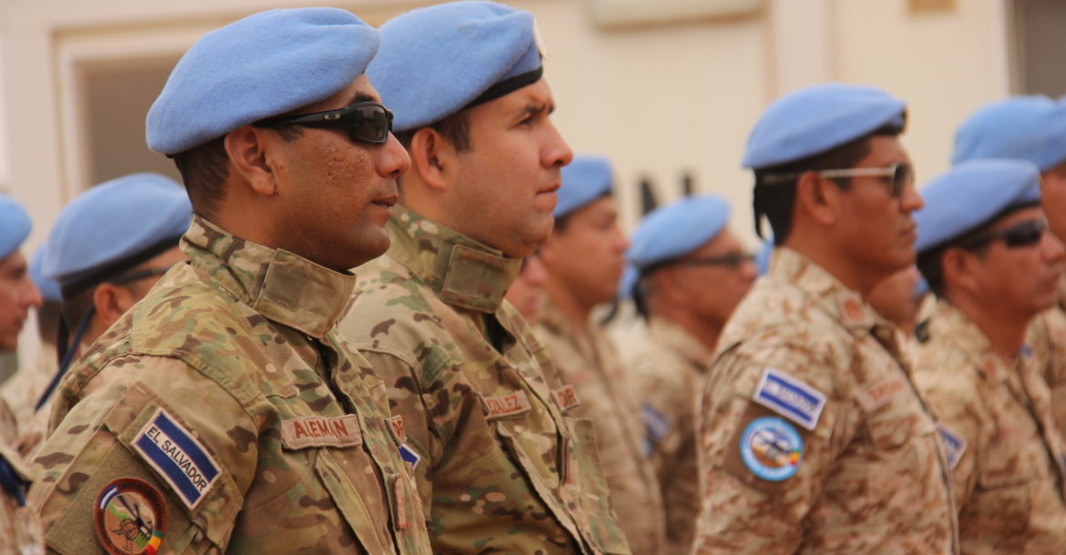 Minusma peacekeepers in Timbuktu