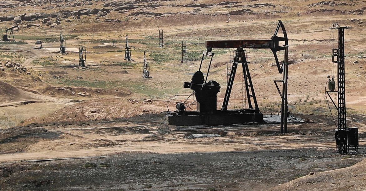 Syria oil field