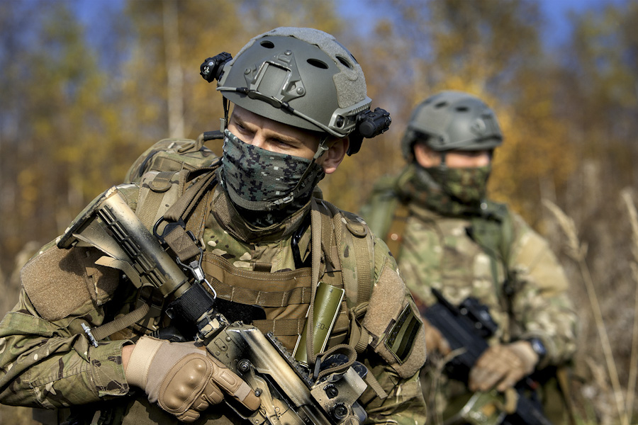 Russian Spetsnaz special operations forces