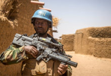 Senegal peacekeeper in Mali