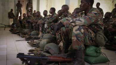 Sierra Leone troops