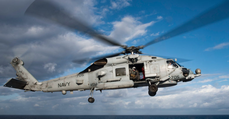 Sikorsky MH-60R Seahawk helicopter