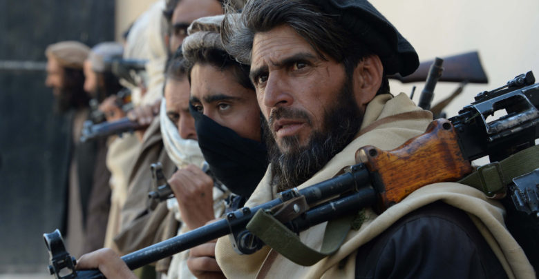 Former Afghan Taliban fighters