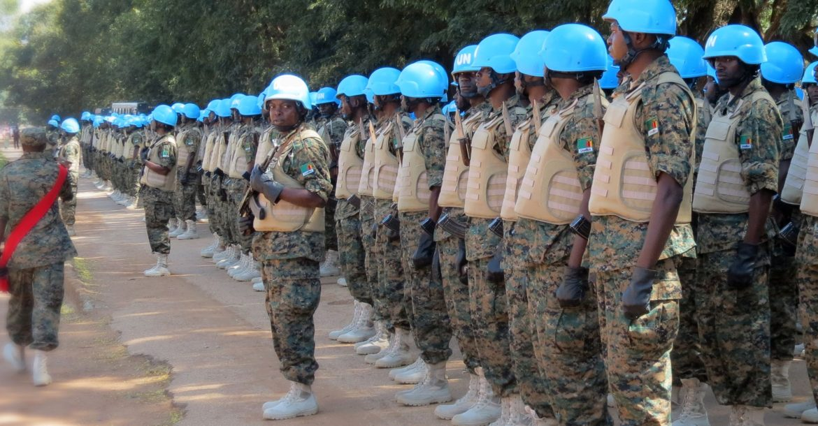 UN peacekeepers in Central African Republic