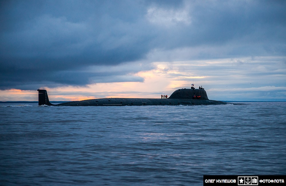 Russian Yasen-class nuclear-powered multipurpose attack submarine K-560 Severodvinsk