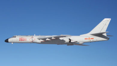 Chinese People's Liberation Army Air Force H6-K bomber