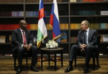 Foreign Minister Sergey Lavrov met in Sochi with President of the Central African Republic Faustin-Archange Touadera