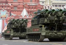Russian Buk-M2 surface-to-air missile systems