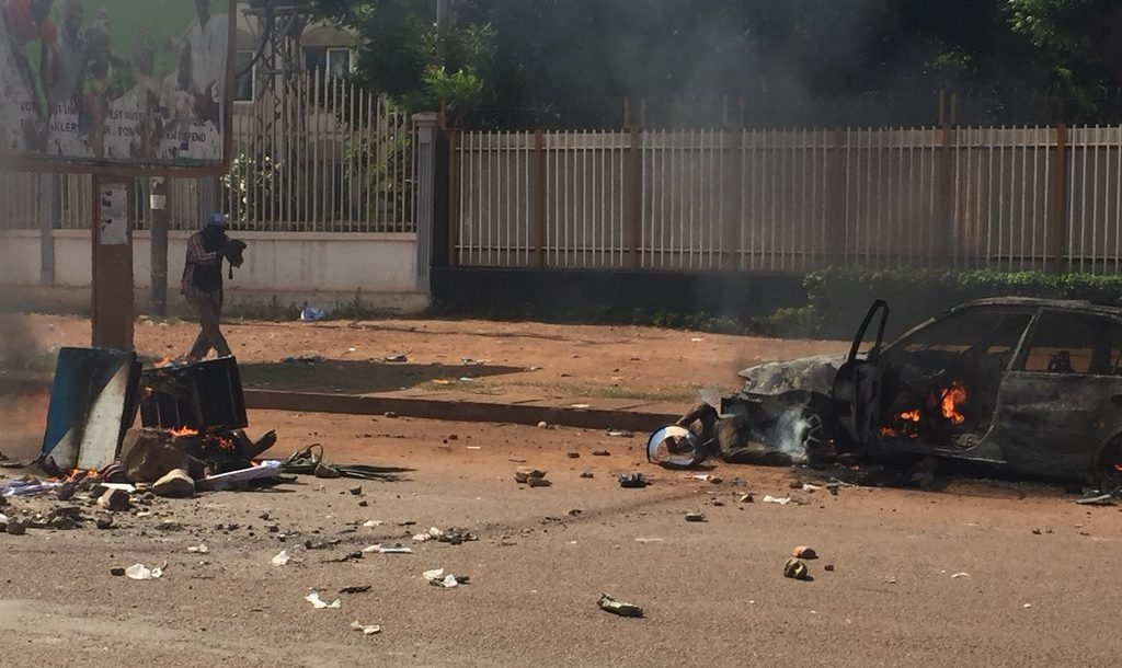 Violent clashes in Bangui, Central African Republic