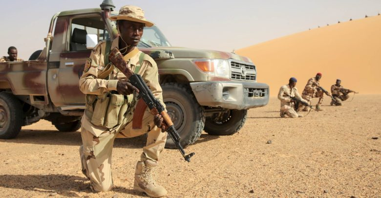 Chadian Army soldier