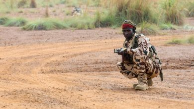 Chadian Armed Forces soldiers