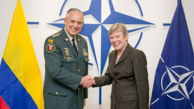 Colombia visits NATO