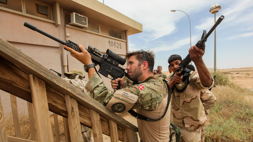 Danish Army, Al Asad, Iraq