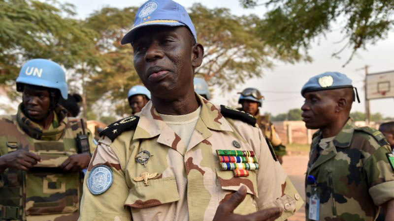 Senegal's Lieutenant General Balla Keita, Minusca Force Commander