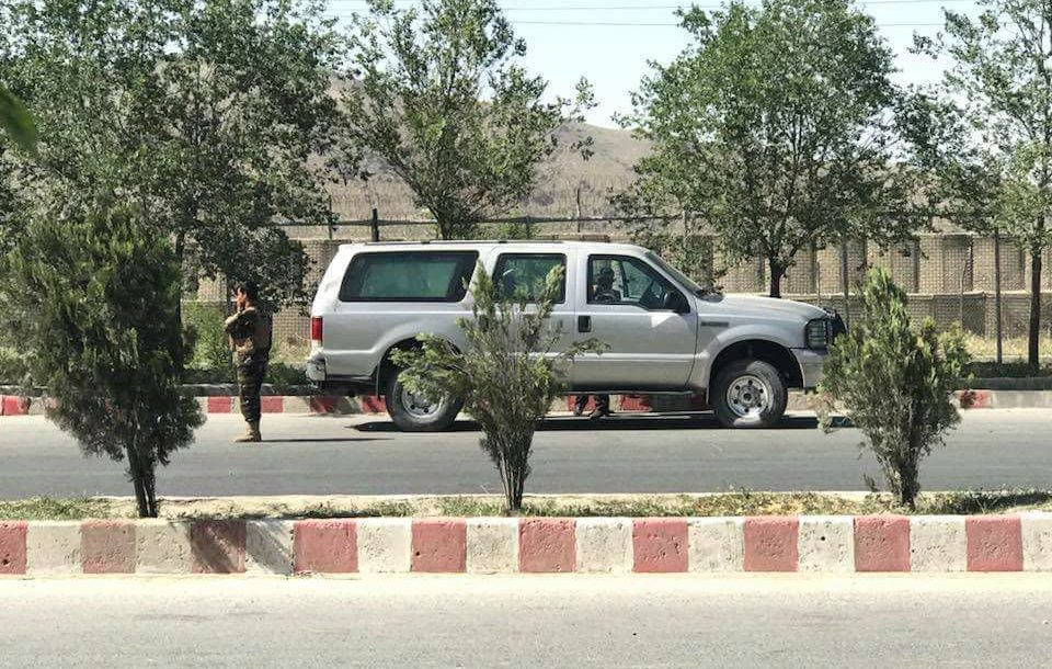 Afghanistan interior ministry attack