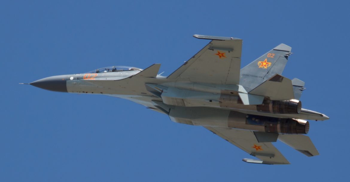 Kazakhstan Air Force Su-30