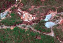 Nuclear test site in Punggye-ri, North Korea