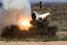 Pantsir-S air defense missile-gun system