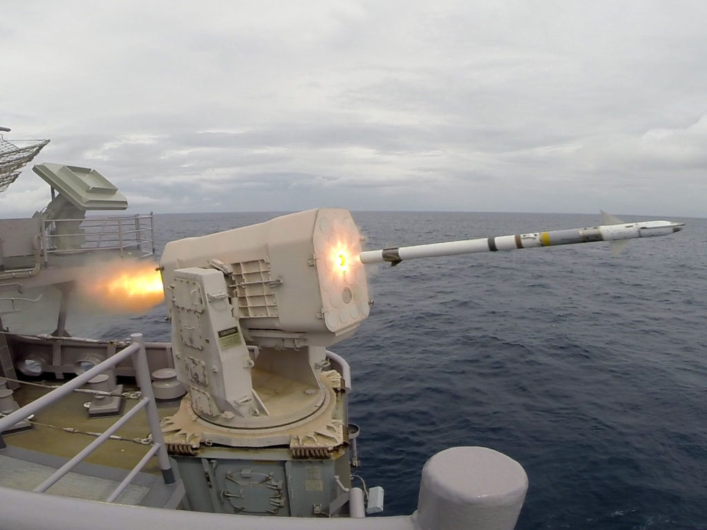 Mk-31 Rolling Airframe Missile Launcher