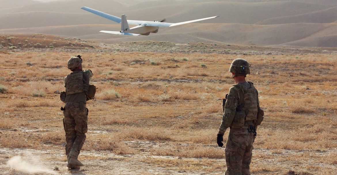 Deploying the RQ-20 Puma UAV in Afghanistan