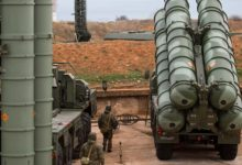 Russian S-400 Triumf air defense missile system