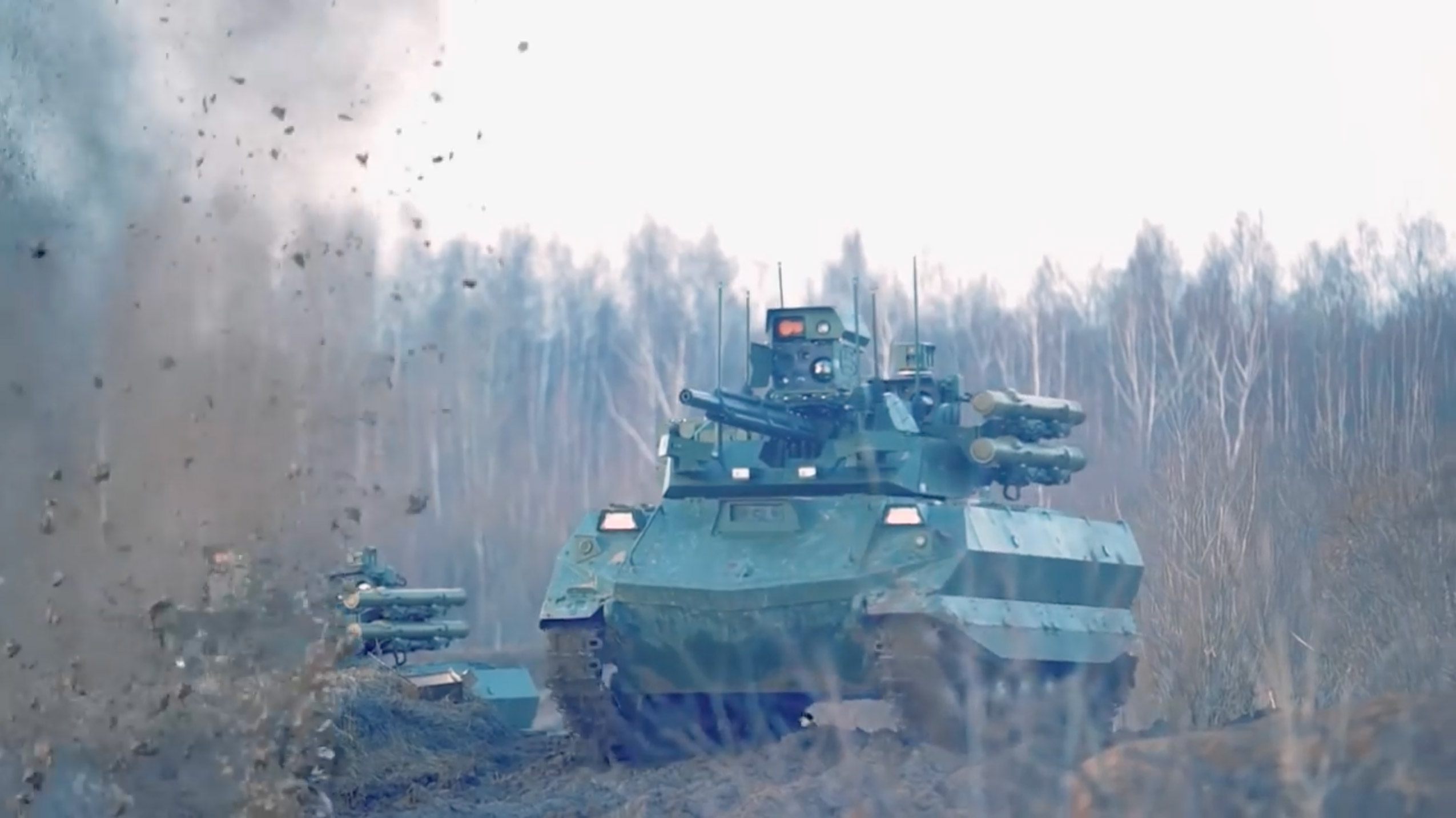 Robotic vehicles: Russia's quest for the weapons of future wars