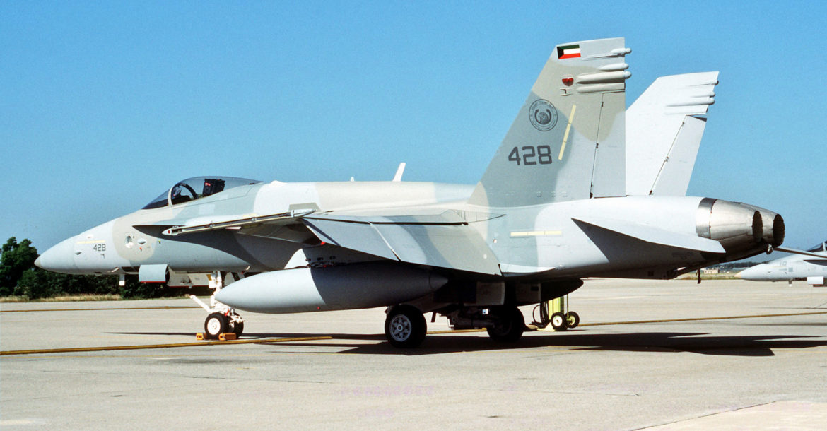 Kuwaiti Air Force F-18